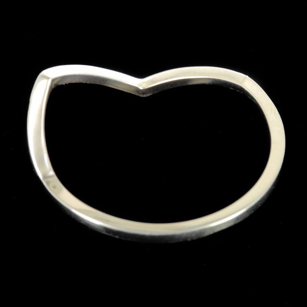 Gouden v-ring 18Kt goud